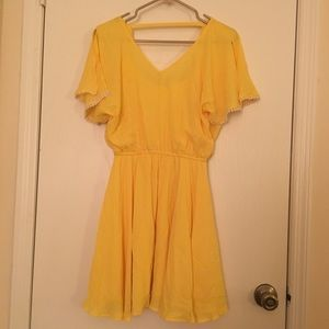 🔥 2 FOR $20 🔥 Brand New Yellow Dress