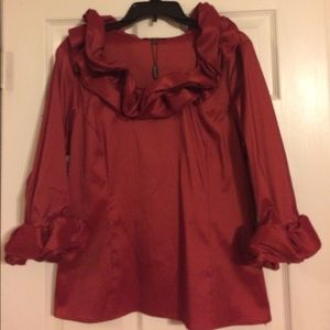 NWT Samuel Dong Blouse