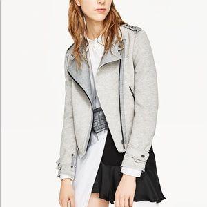 Zara crossover plush jacket