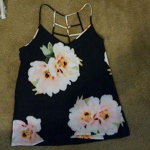 Everlast flower print workout shirt & pants