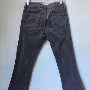 Gap skinny bootcut corduroy