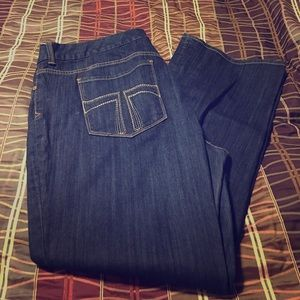 Plus size 24 jeans