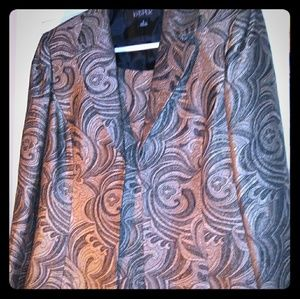 Two peice womens jacket and vest