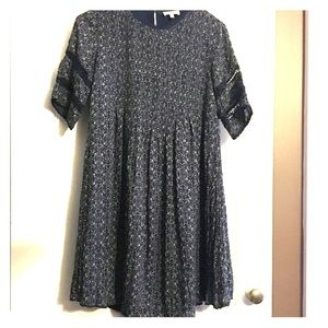 Wilfred Aritzia Sonore Print Dress Boho XXS