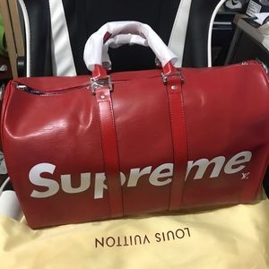 Supreme x Louis Vuitton Duffle Travel Bag