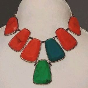 Celeste Michelle Bib Statement Anthro necklace