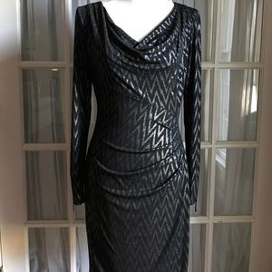 Beautiful black and silver dress