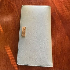 Kate Spade Grand Street Stacy Wallet in mint