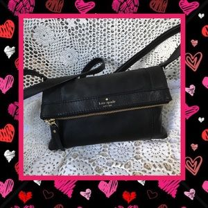 Kate Spade Authentic Black Leather Sling Bag