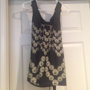 Yoana Baraachi from Anthropologie Floral Tank