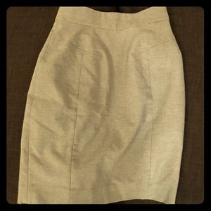Gray H&M Pencil Skirt Size 2