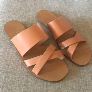Jcrew Bali slide on sandals. Worn once