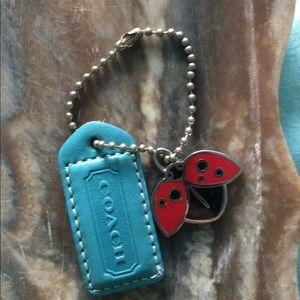 Coach, ladybug 🐞 keychain