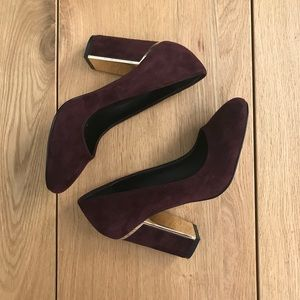 Sole Society Suede Heels