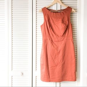 The Limited Burnt Orange Dress with Pockets