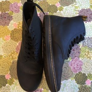 Dr. Martens Tobias 8 hole Air Wair punk rock boots