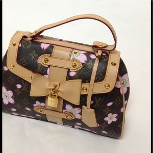 Louis Vuitton Cherry blossom retro Bag