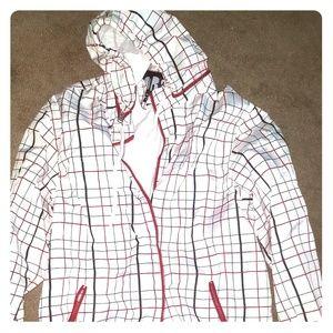 Other - Plaid Windbreaker Jacket