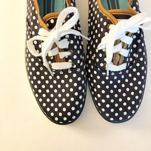 NEW! Never worn KEDS Polka Dot Sneakers 10