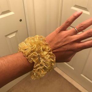 Gold Plated Magnetic Closure Bracelet