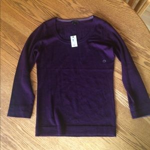 NWT- The Limited -Deep Purple Sweater