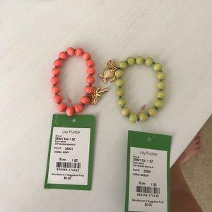 2 Lilly Pulitzer GWP bracelets