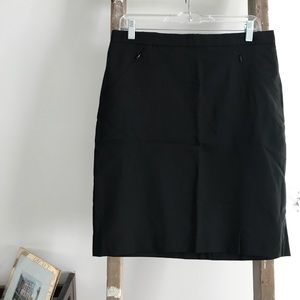 NWT Club Monaco Black Pencil Skirt