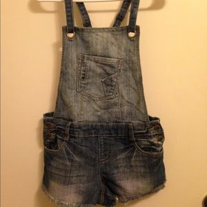 Hot Kiss Brand One-Peice Overall Shorts