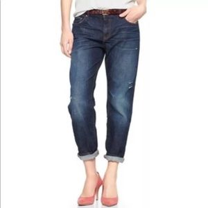 GAP Jeans Sexy Boyfriend Marengo Dark 26 Relaxed