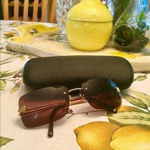 Chanel authentic aviator sunglasses