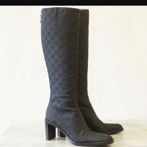 Gucci knee high boots 👢