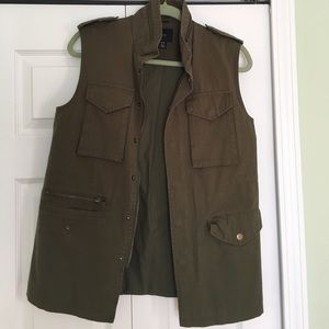 Urban Outfitters Military Utility Vest