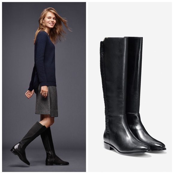 5839805badb Cole Haan Shoes - Cole Haan Rockland Boots in Black Leather