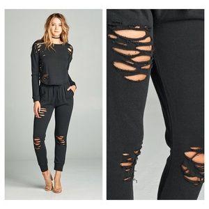🆕 Distressed Jogger Pants