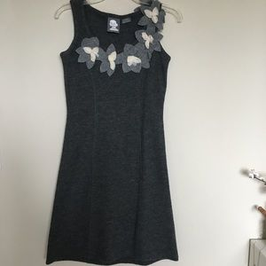 Anthropologie Girls from Savoy Dried Leaves dress