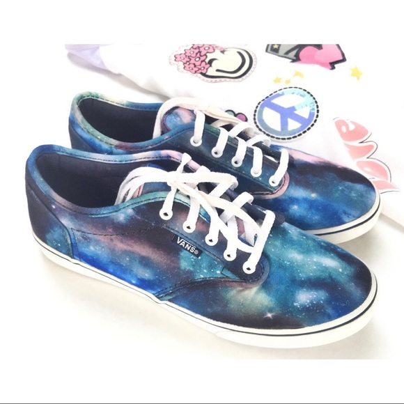 b5fe0db36735 Vans Low Pro Cosmic Galaxy Shoes SZ 6.5