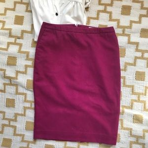 Beautiful purple merona pencil skirt with pockets