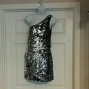 Nwt. As u wish size large homecoming dress