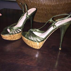 Miu Miu Women's Stiletto Sandal Size 38.5