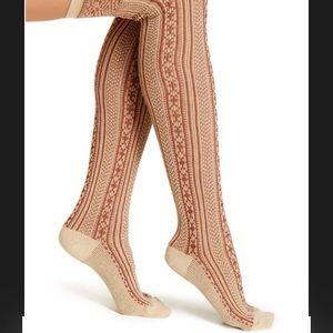 Free People Over the Knee Socks