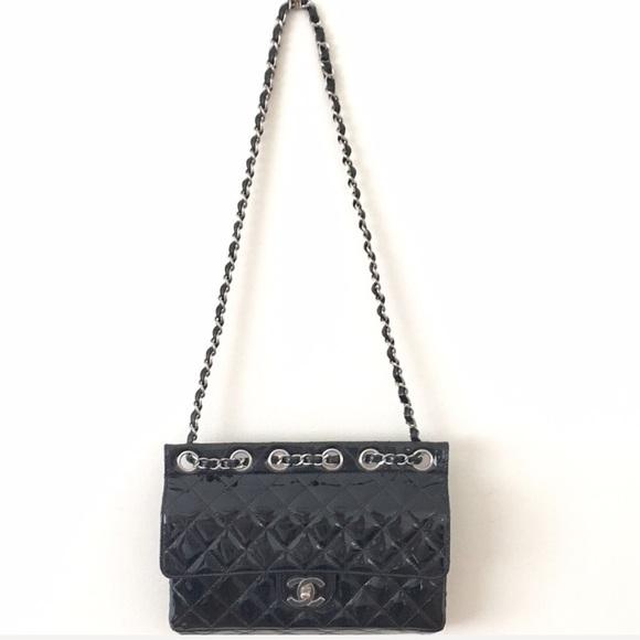 47a9428b1479 CHANEL Bags | Ltd 255 Patent Leather Classic Flap Handbag | Poshmark