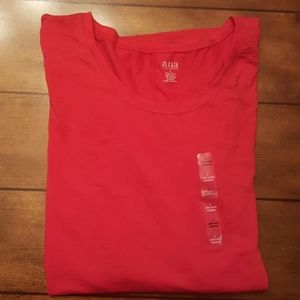 SIZE LARGE A.N.A LONG SLEEVE TOP