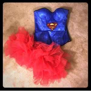 Superwoman Halloween Outfit