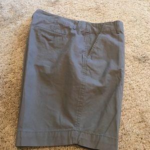 GAP grey chino shorts