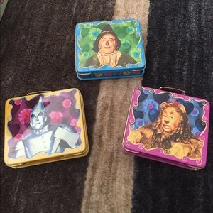 Collectible Wizard of Oz Mini Lunchbox Tins