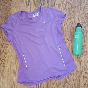 NB Lavender Running Workout Shirt XL