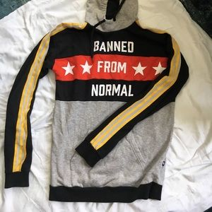 Adidas banned from normal sweatshirt