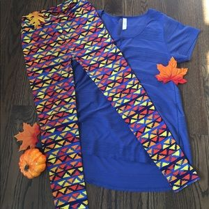 Lularoe Fall Inspired Outfit - M Classic & OS