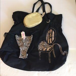 Victoria's Secret Canvas bag bundle