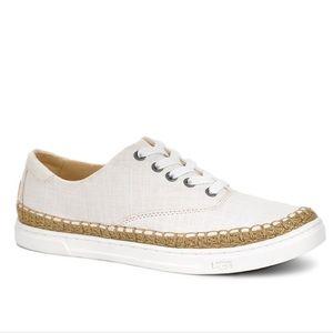 "UGG ""Eyan II"" Cream Sneakers"